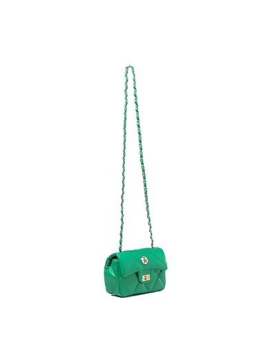 TH Bags   Kadın Çapraz Çanta Th070000  Yeşil